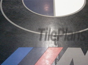 TilePlans Rubber Logo Floor Tiles