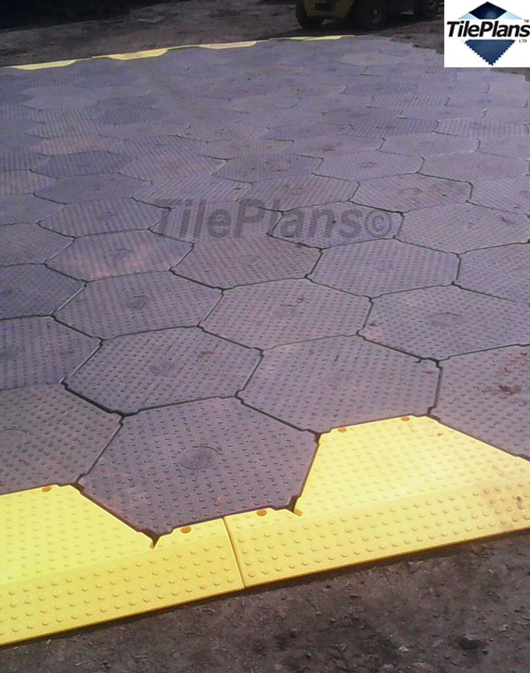 TilePlans Outdoor Ultimate HexaTile and Ramps