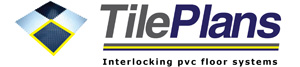 TilePlans Interlocking PVC Floor Systems Logo
